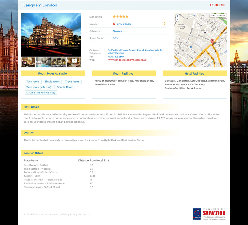 SALTOUR  - Global hotel